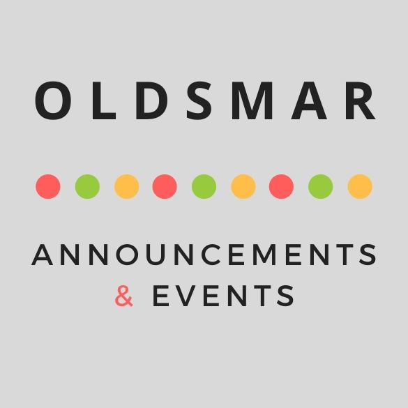 Oldsmar Announcements and Events