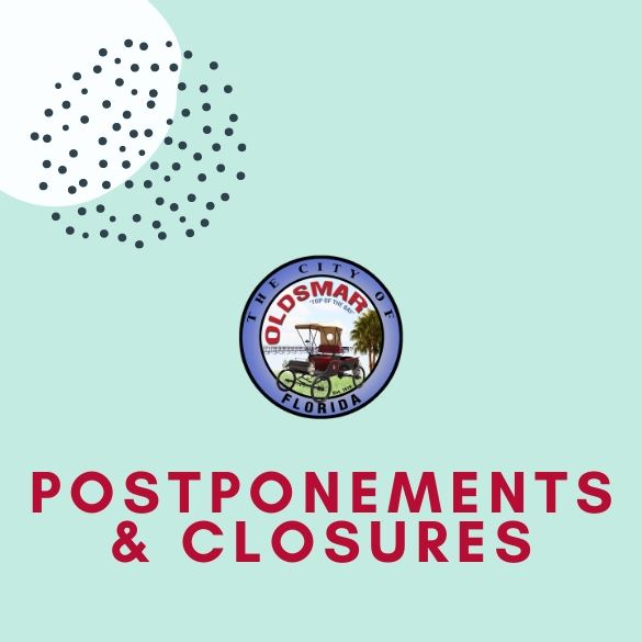 newsflash POSTPONEMENTSclosures