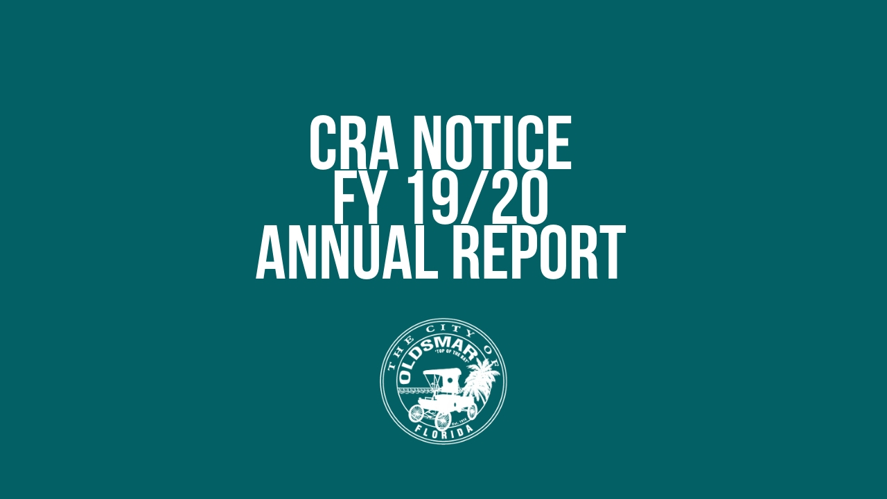 CRA FY 19/20 ANNUAL REPORT