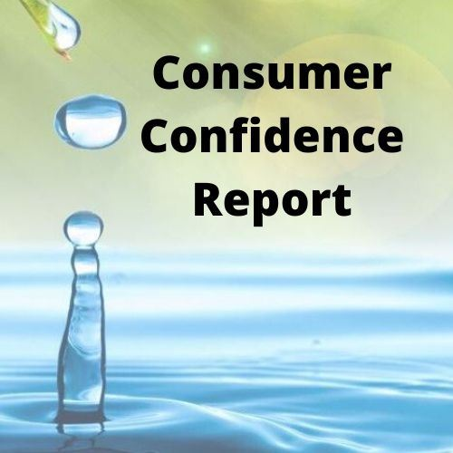 Consumer Confidence Report link