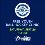 ball hockey clinic