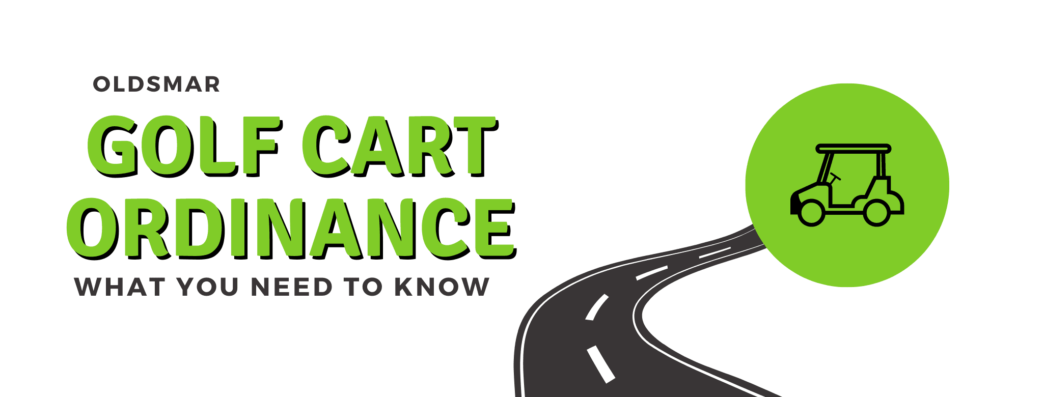 oldsmar golf cart ordinance, what you need to know