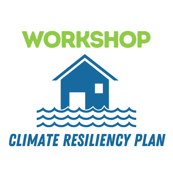 workshop climate resiliency plan house floating on water