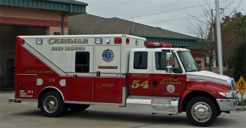 Oldsmar Fire Rescue R54