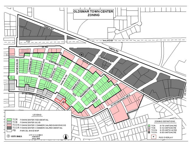 Community Redevelopment Agency Map