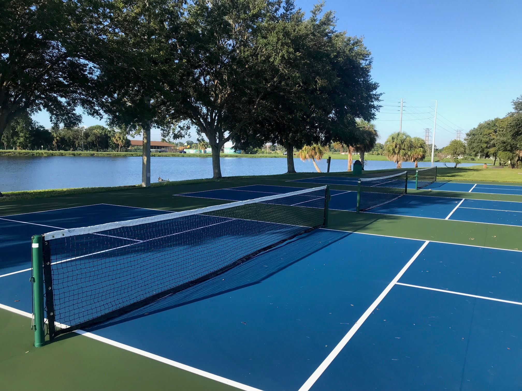 Pickleball Court at Bicentennial Park