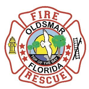 official Oldsmar Fire Rescue logo