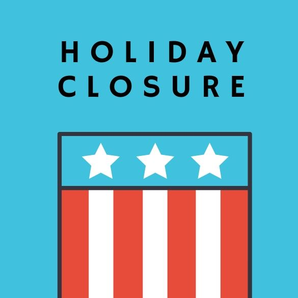 HOLIDAY CLOSURE LOGO