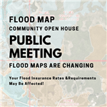 Flood Map Open House logo