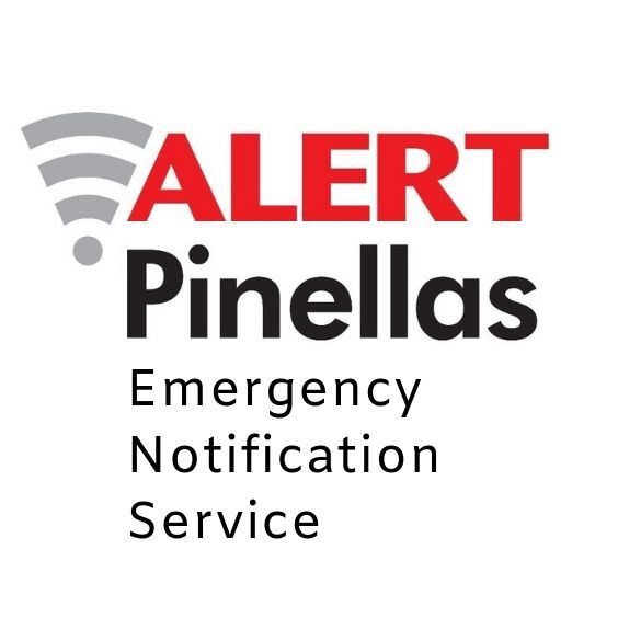 Alert Pinellas Emergency Notification Service logo