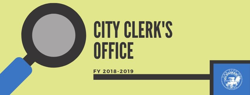 CITY CLERKS OFFICE