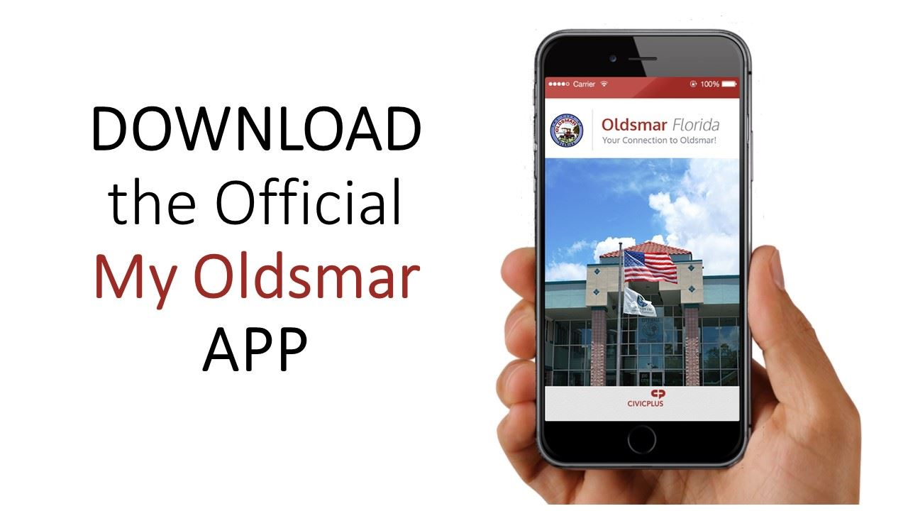 Download the Official My Oldsmar Mobile Application
